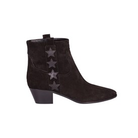 Saint Laurent Paris - WYATT 40 SIDE STARS ANKLE BOOTS