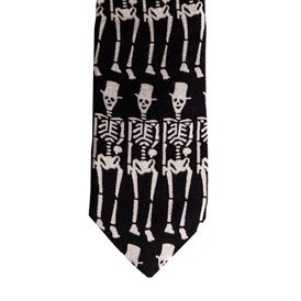 Saint Laurent Paris - SIGNATURE SKELETON TIE