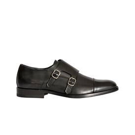 Saint Laurent Paris - DOUBLE MONKSTRAP SHOES
