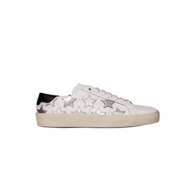 Saint Laurent Paris - silver stars sneakers