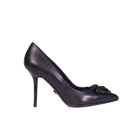 VERSACE - PALAZZO LEATHER PUMPS