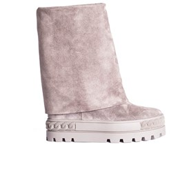 Casadei - REVERSIBLE SNEAKERS WITH WEDGE