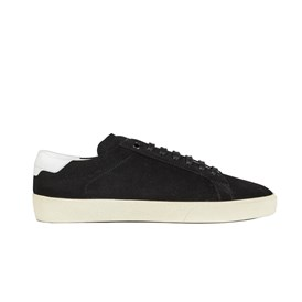 Saint Laurent Paris - BLACK SUEDE SNEAKERS