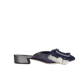 Casadei - DENIM SANDALS