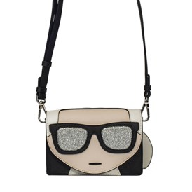 KARL LAGERFELD - K/IKONIK MINI SHOULDER BAG