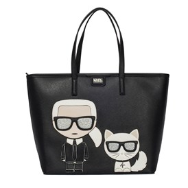 KARL LAGERFELD - K/IKONIK SHOPPER BAG