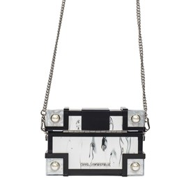 KARL LAGERFELD - TREASURE BOX SHOULDER BAG