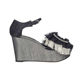 Casadei - DENIM WEDGES