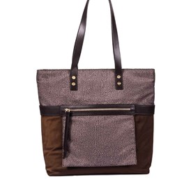 Borbonese - MEDIUM VERTICAL SHOPPING BAG