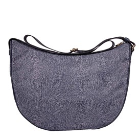 Borbonese - BLUE MEDIUM LUNA BAG