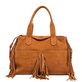 L'AUTRECHOSE - SHOPPING BAG CON FRANGE